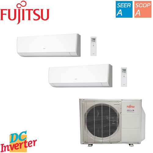 Aer Conditionat MULTISPLIT FUJITSU INVERTER 2 x 9000 BTU/h