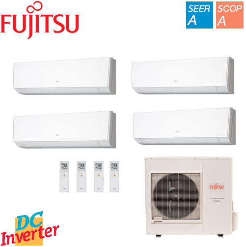 Aer Conditionat MULTISPLIT FUJITSU INVERTER 4 x 9000 BTU/h