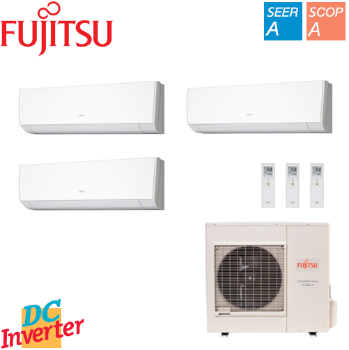 Aer Conditionat MULTISPLIT FUJITSU INVERTER 3 x 9000 BTU/h