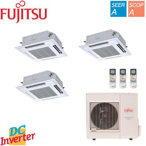 Aer Conditionat MULTISPLIT FUJITSU INVERTER CASETA 3 x 9000 BTU/h
