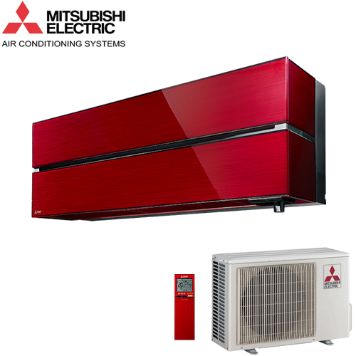Aer Conditionat MITSUBISHI ELECTRIC MSZ-LN25VGR Ruby Red Inverter 9000 BTU/h