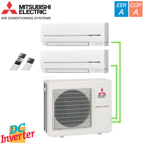 Aer Conditionat MULTISPLIT MITSUBISHI ELECTRIC INVERTER 2 X 9000 BTU/h