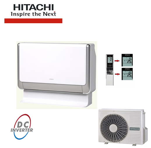 Aer Conditionat PARDOSEALA HITACHI INVERTER 9000 BTU/h